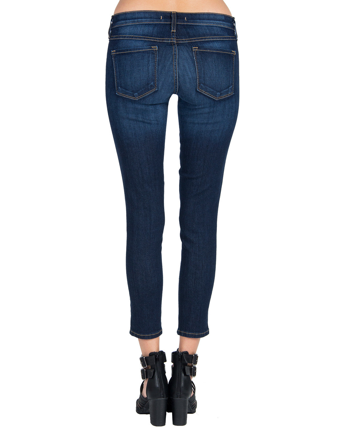 Flying Monkey - Cropped Skinny Jeans