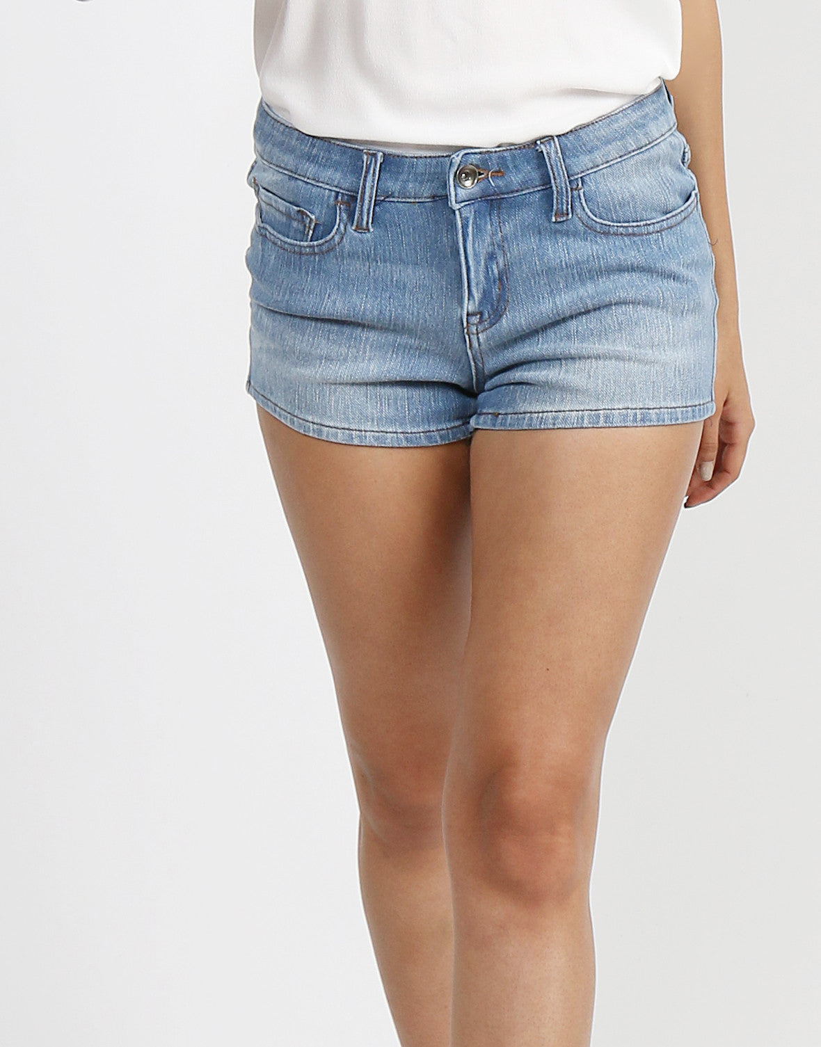 Basic Stretchy Shorts - 2020AVE