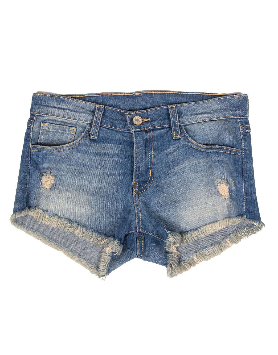 Flying Monkey - Fringe Distressed Shorts