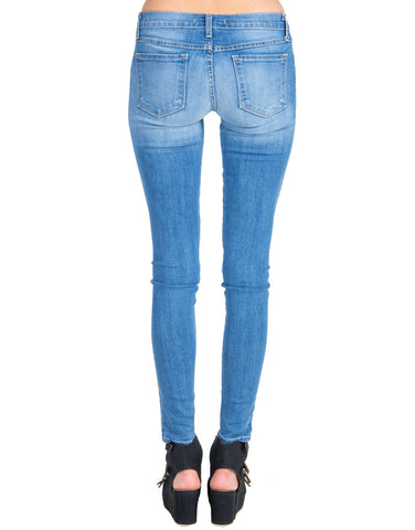 Flying Monkey - Light Faded Denim Skinny Jeans
