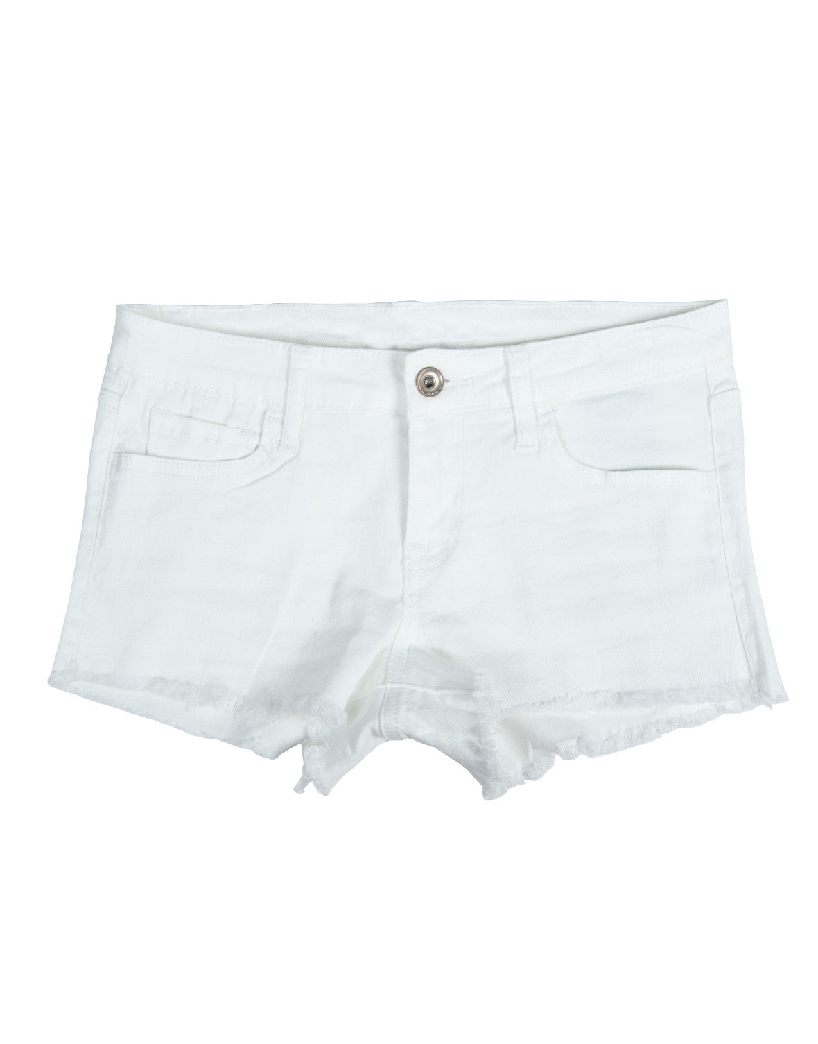 Simple Cut Off Shorts - 2020AVE