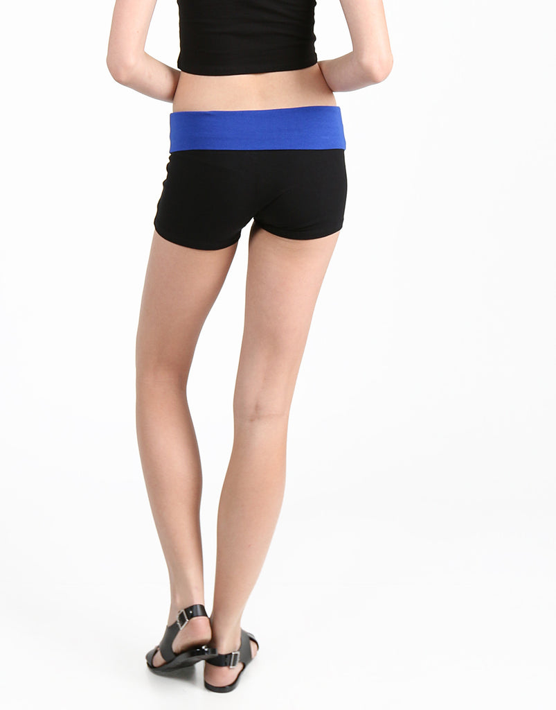 Foldover Yoga Shorts - 2020AVE