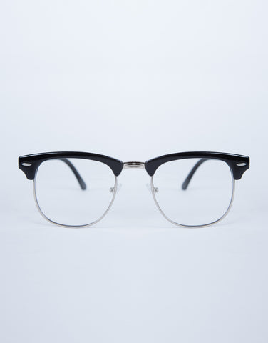 Framed Clear Glasses