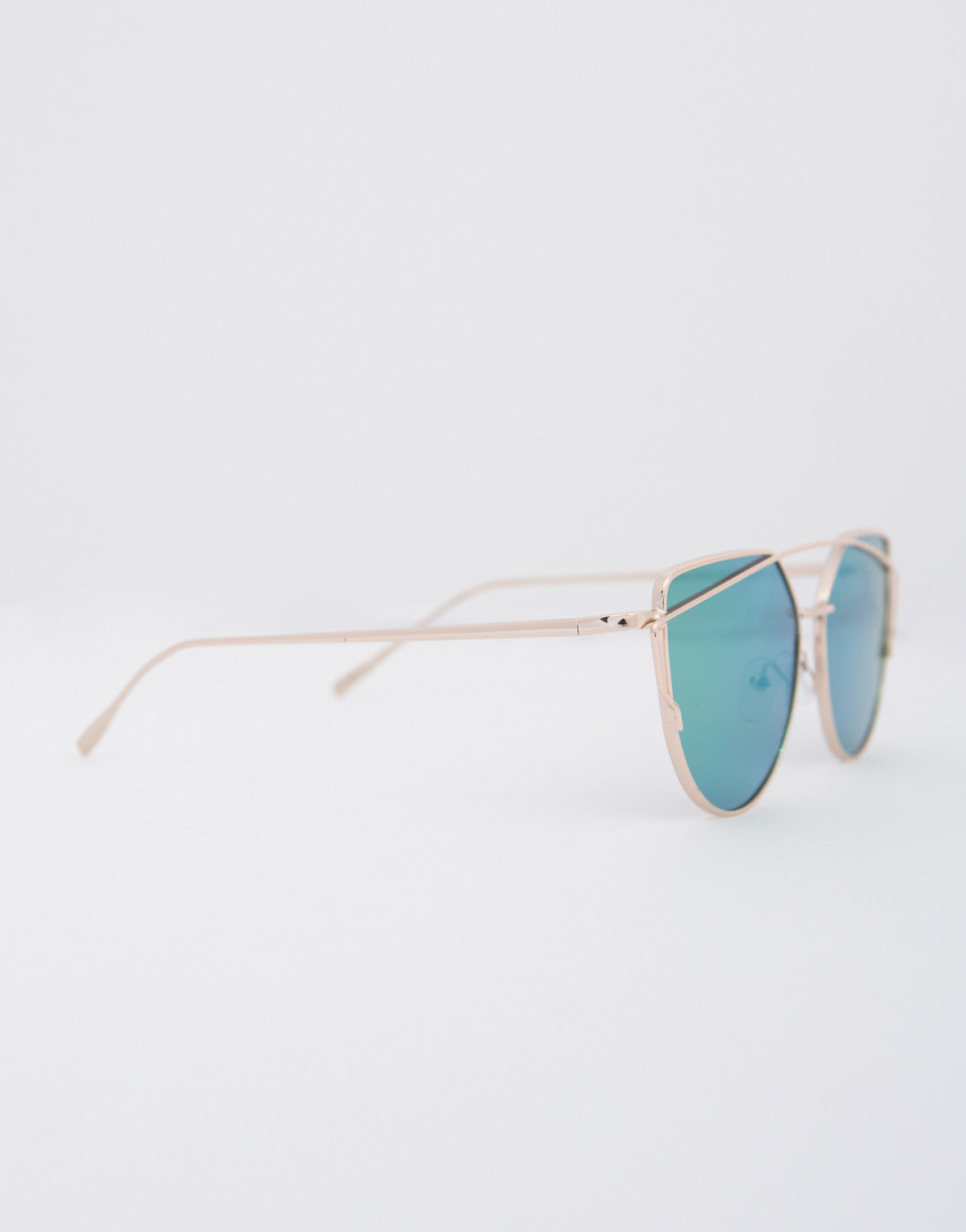 Framed Reflection Sunglasses