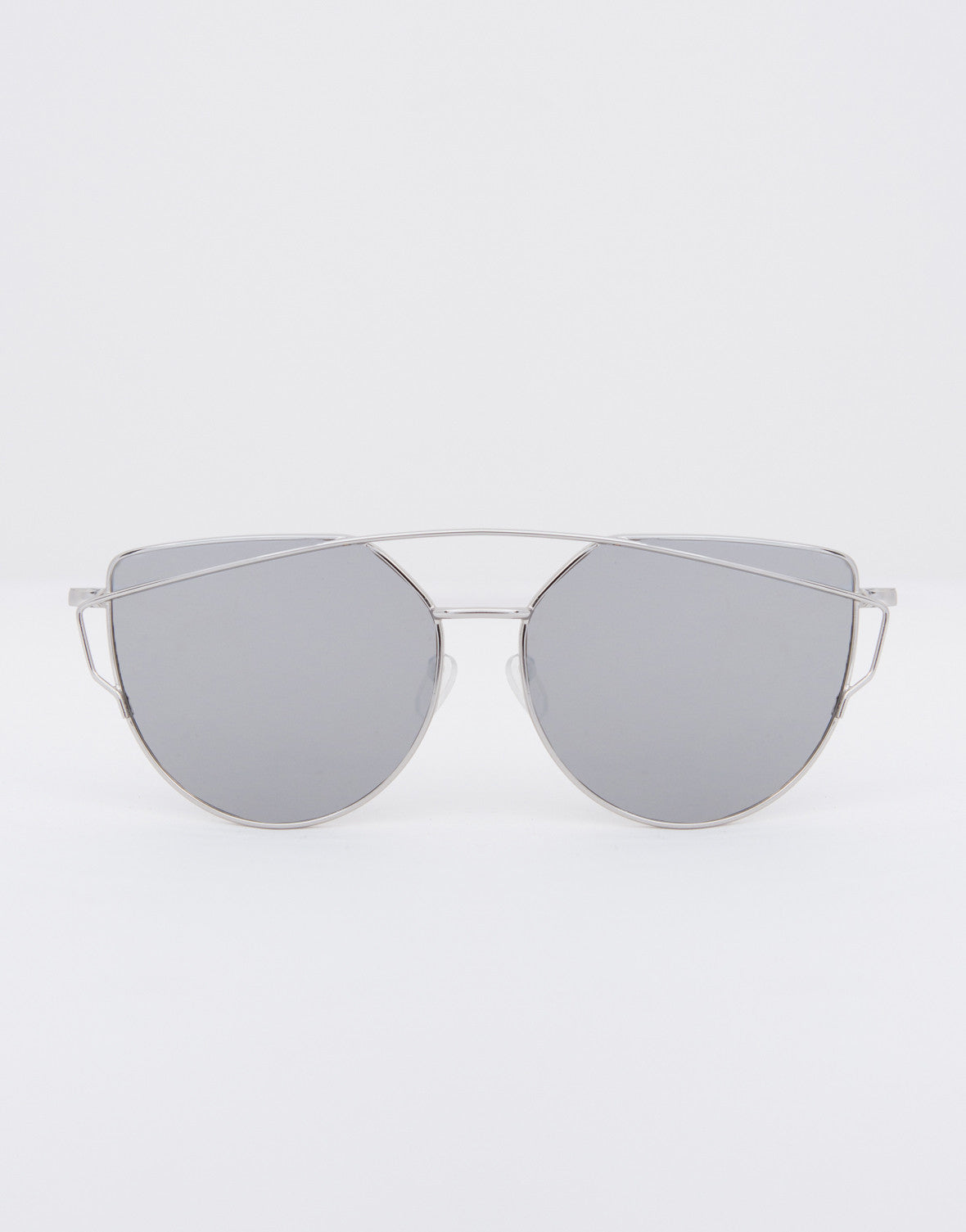 Framed Reflection Sunglasses - 2020AVE