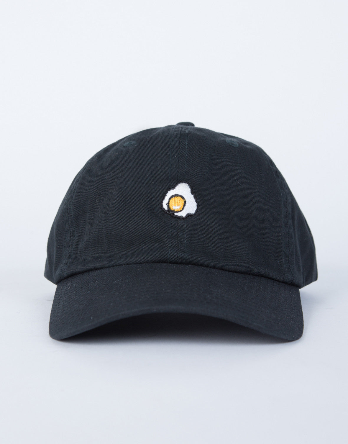 Fried Egg Baseball Cap - Fried Egg Patched Cap - Patched Baseball ... f5ed5ee060bc