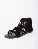 Fringed Open Sandals