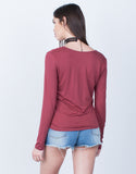 Front Knotted Top