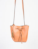Front Tie Bucket Bag