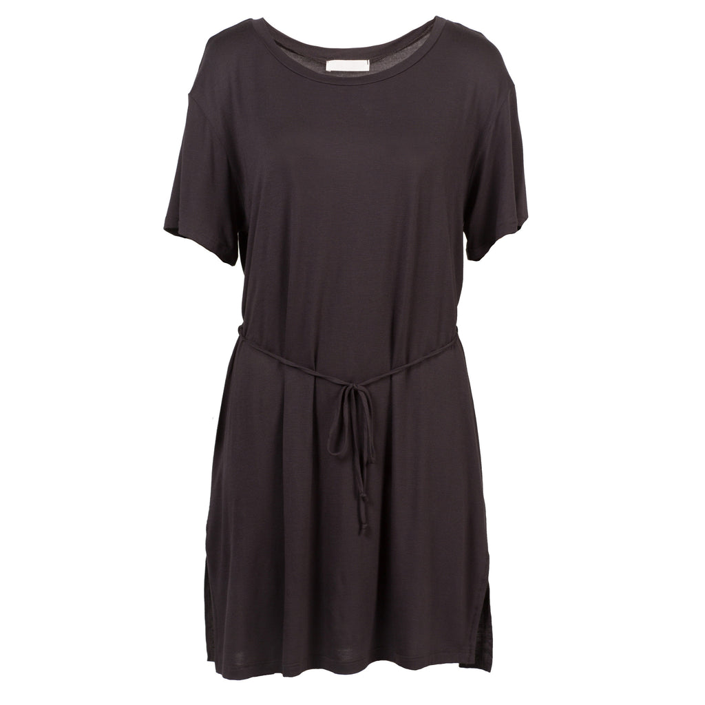 Front Tie Short Sleeve Dress - 2020AVE