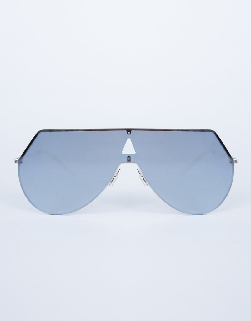 Futuristic Oversized Sunnies - 2020AVE