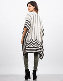 Back View of FuzzyÊOpen Poncho