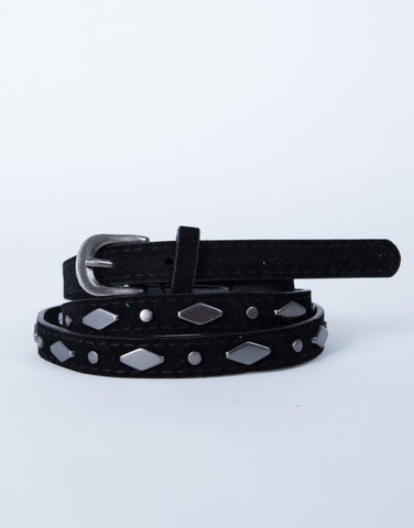 Geometric Studded Belt