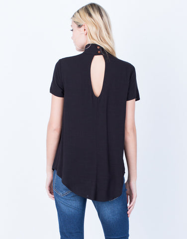 Back View of Get Caught Up Blouse