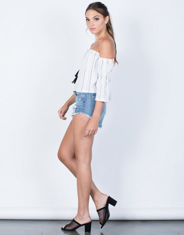 Getaway Striped Top - 2020AVE