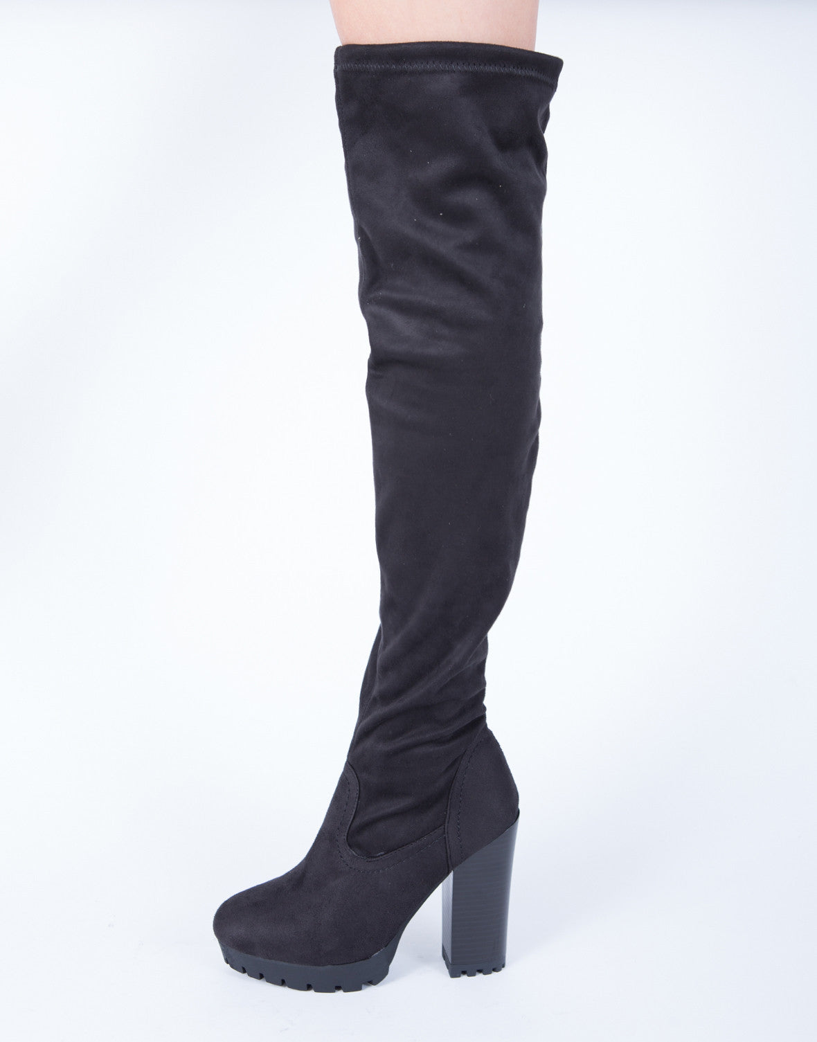 Give'Em Edge Over-the-Knee Boots