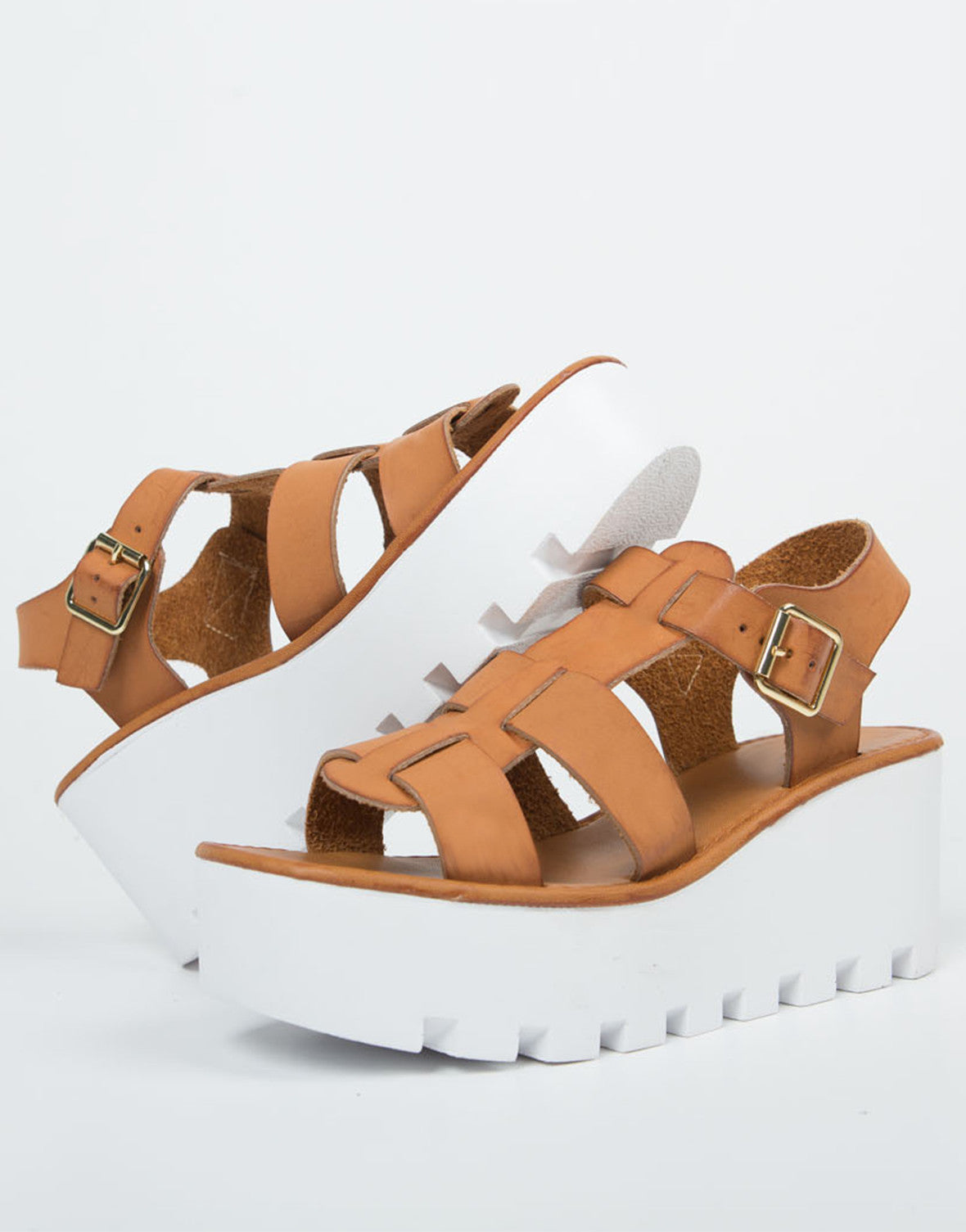 Gladiator Platform Wedges