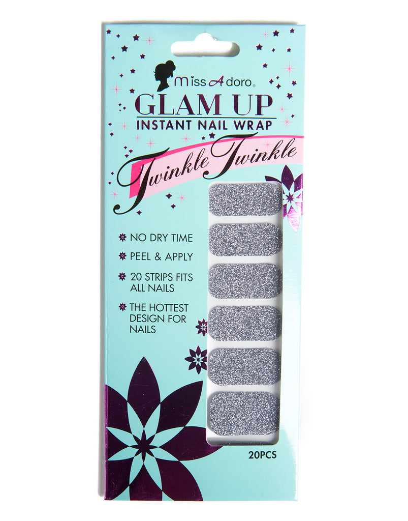 Glam Up Instant Nail Wrap - 2020AVE