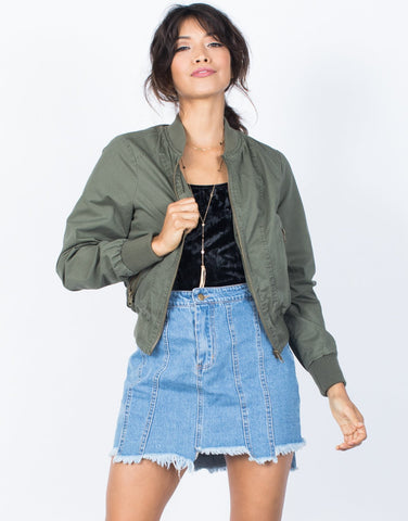Go-To Bomber Jacket - 2020AVE