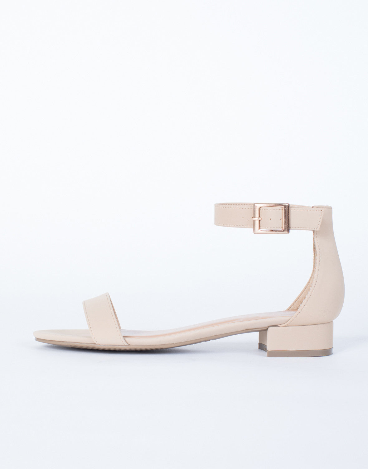 Nude Go-To Strappy Sandals