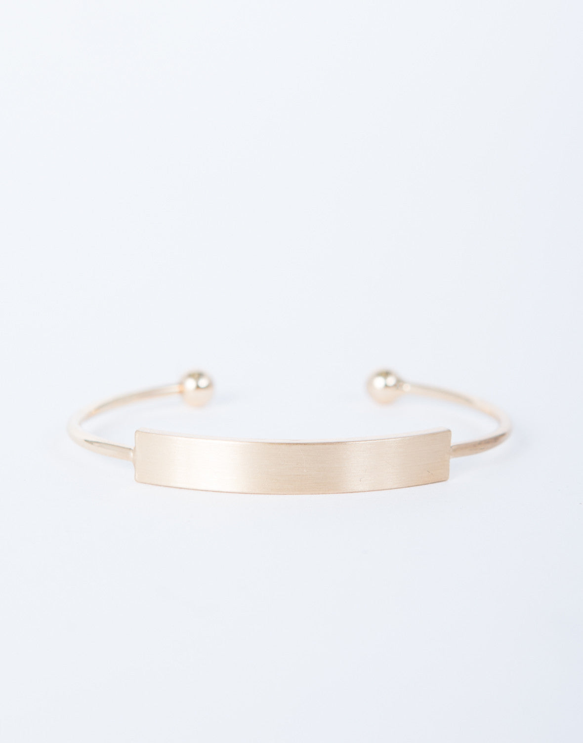 Golden Bar Cuff Bracelet
