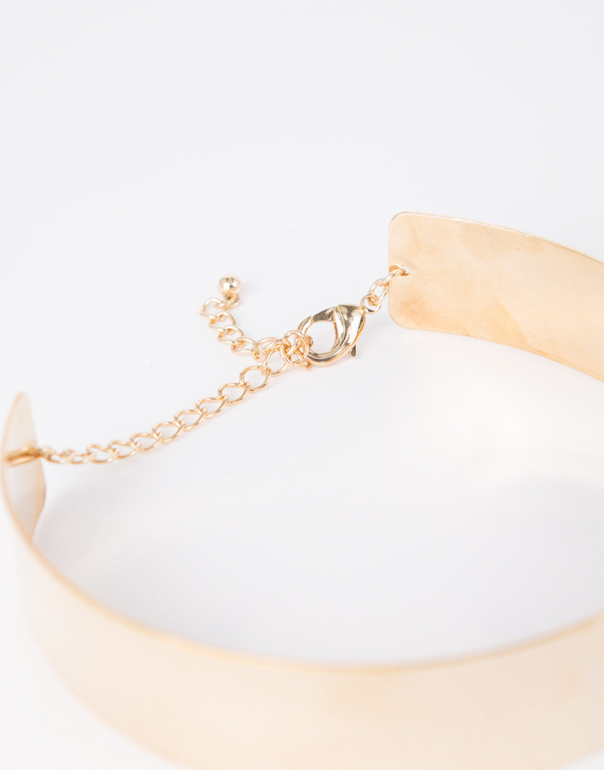 Golden Metal Choker