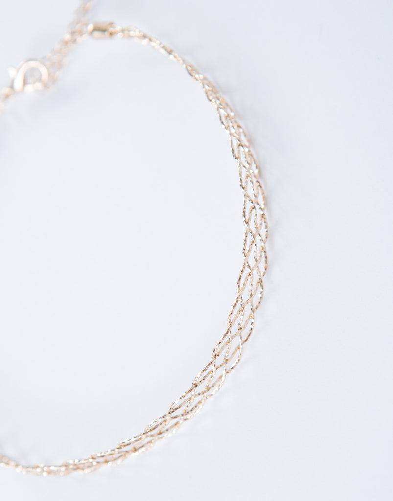 Golden Metal Collar Choker