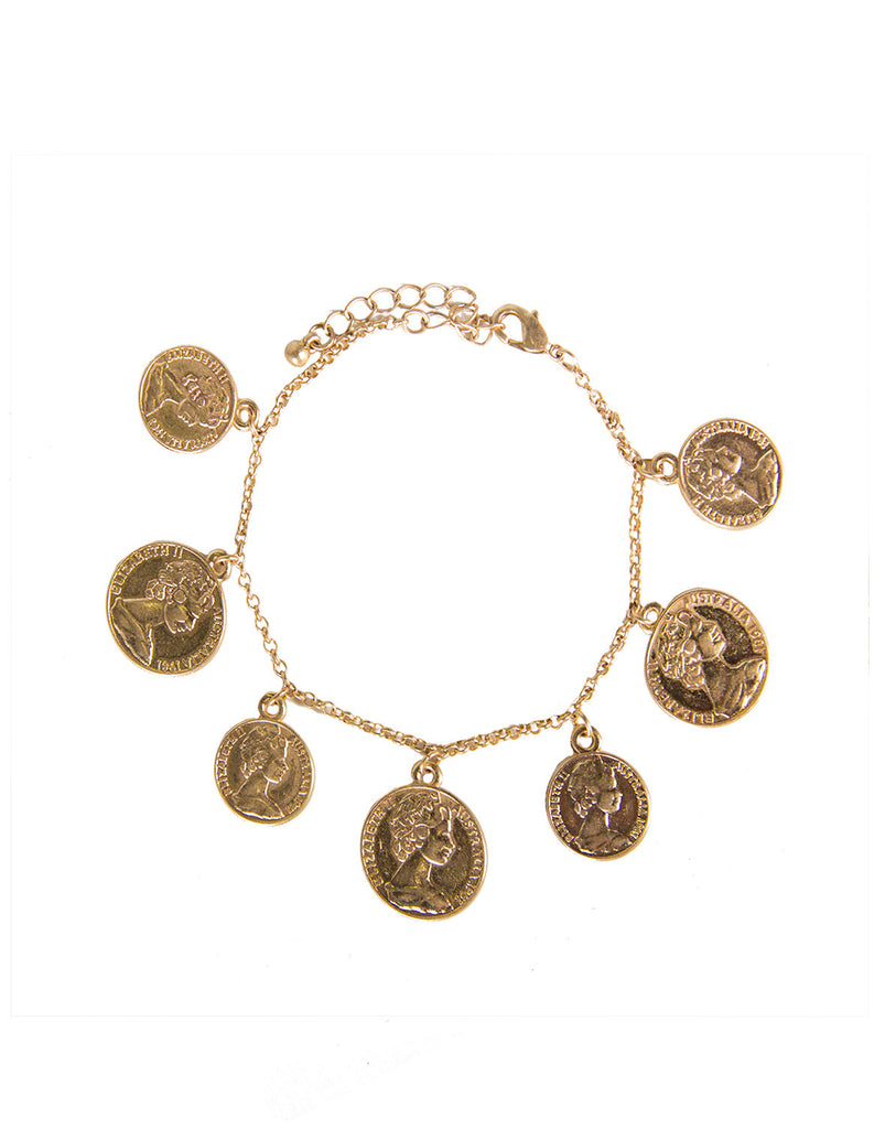 Golden Coins Bracelet - 2020AVE