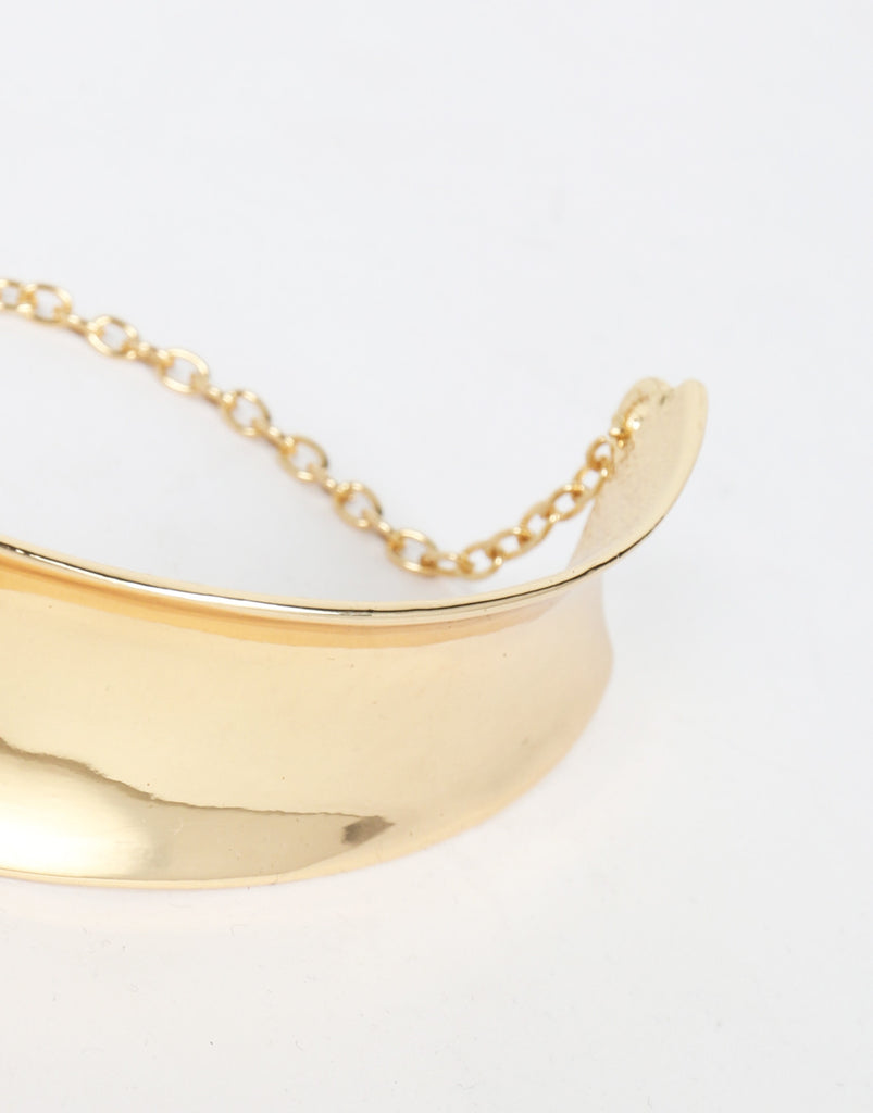 Golden Half Collar Necklace - 2020AVE