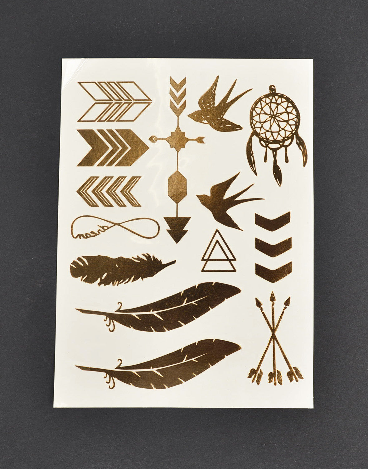 Golden Native Jewelry Tattoo - 2020AVE
