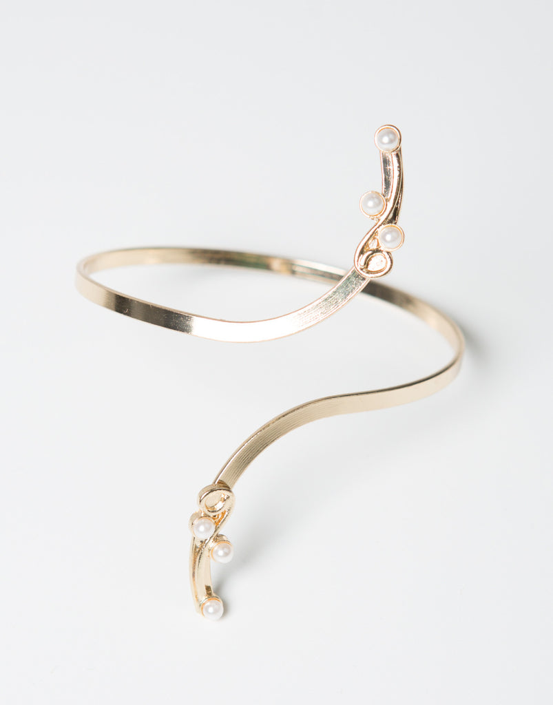 Golden Pearl Cuff - 2020AVE