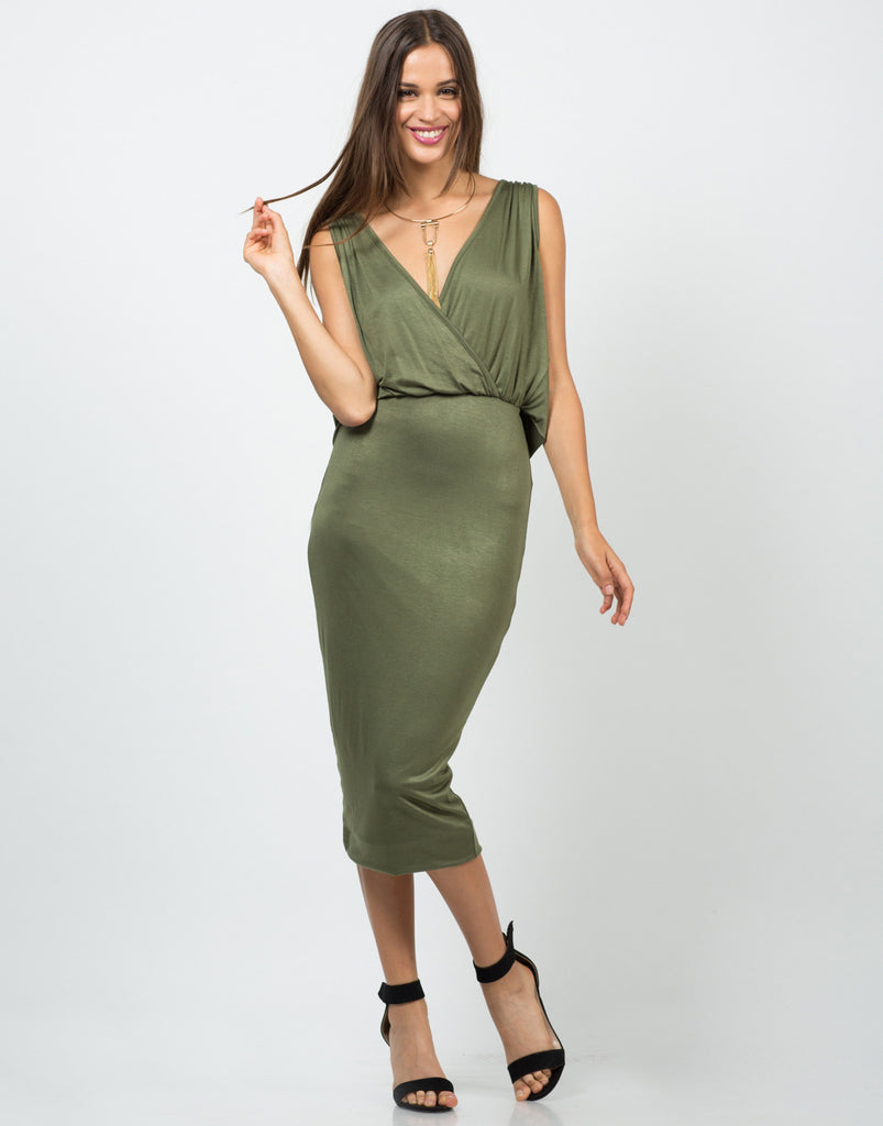 Grecian Midi Dress - 2020AVE