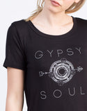 Detail of Gypsy Soul Graphic Tee