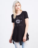 Gypsy Soul Graphic Tee - 2020AVE