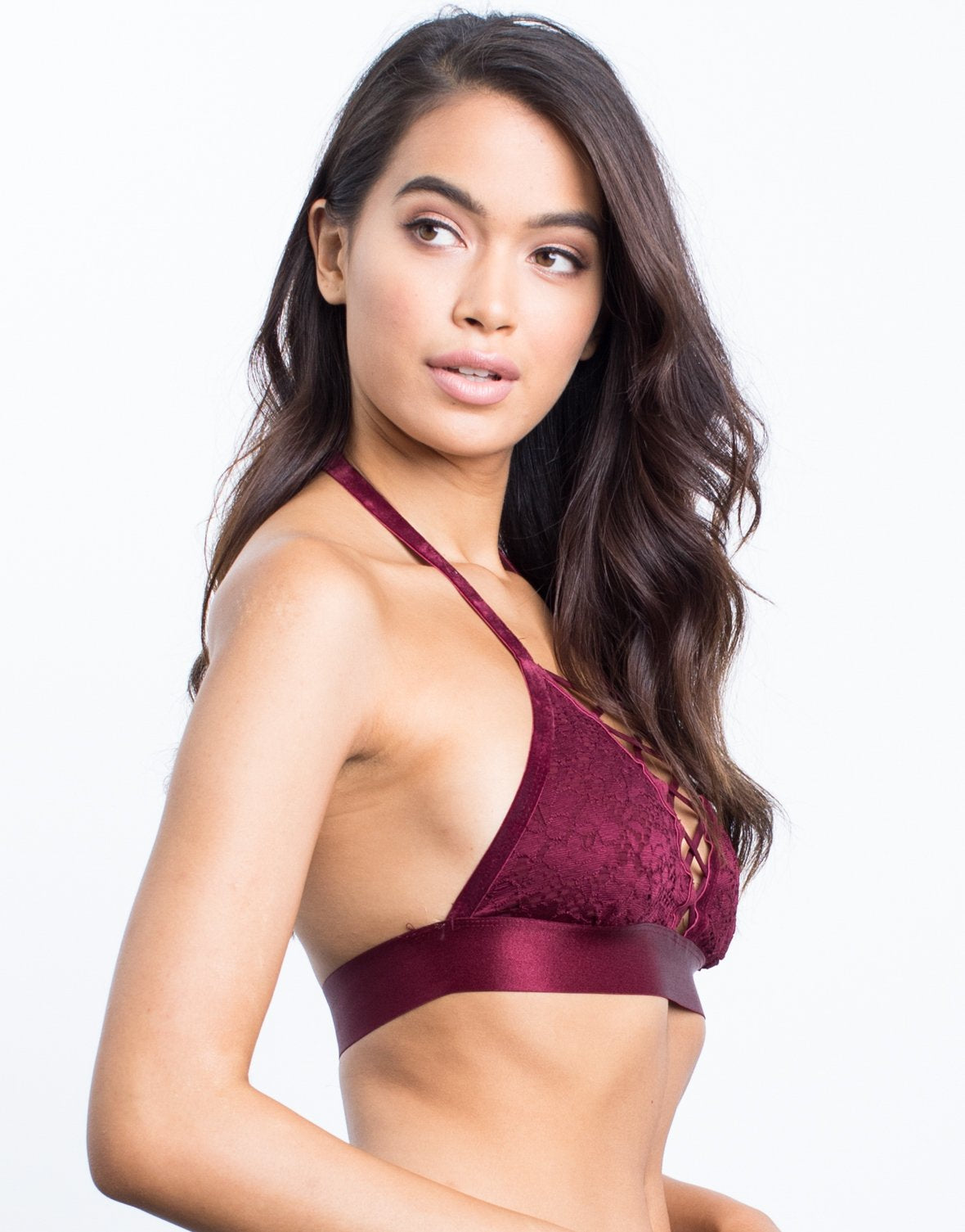 Hailey Floral Lace Bralette - 2020AVE