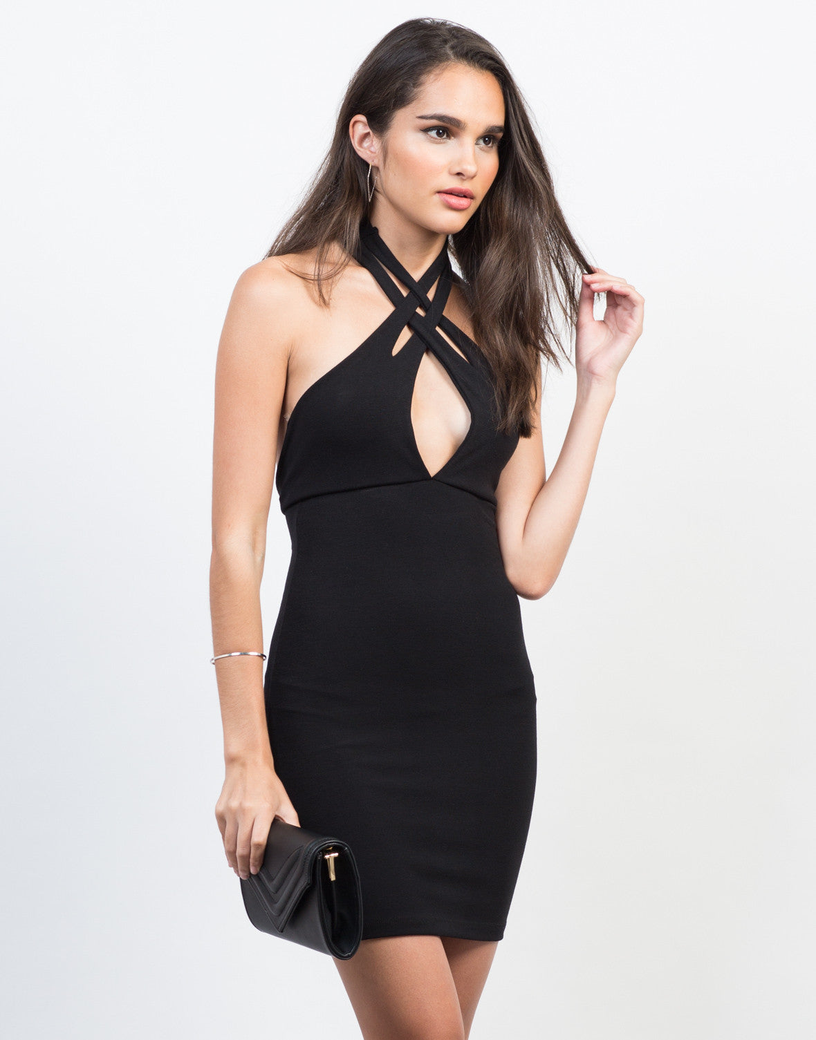 Have a Hold On Me Keyhole Dress