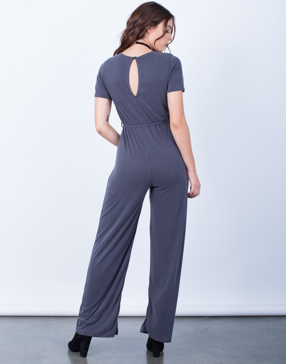 Back View of Have a Hold on You Jumpsuit
