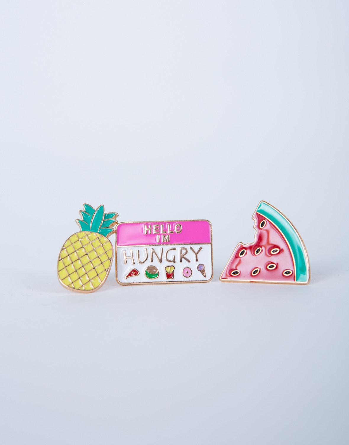 Hello I'm Hungry Pin Set