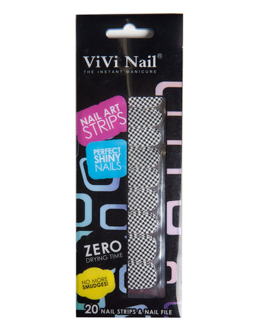 Herringbone Nail Art Strips