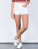 High Rise Cuffed Shorts - 2020AVE