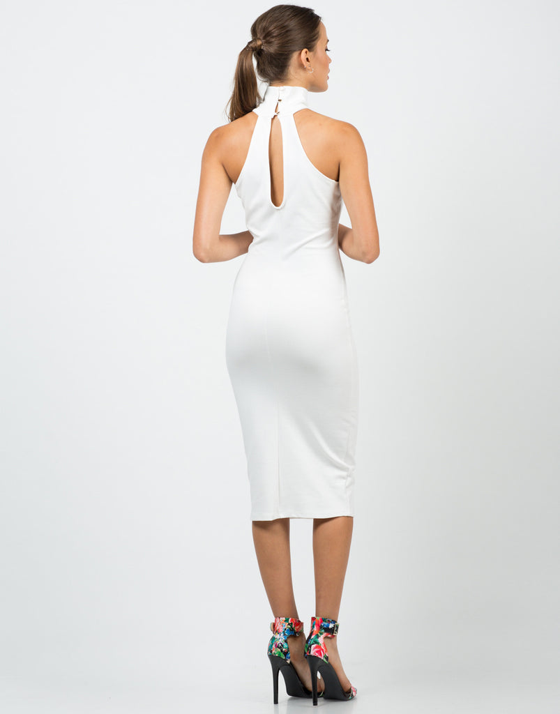 High Neck Midi Dress - 2020AVE
