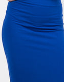 Detail of High Waisted Midi Skirt