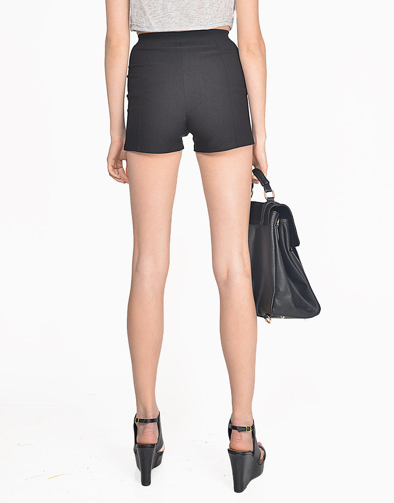 High Waisted Stretchy Shorts - 2020AVE