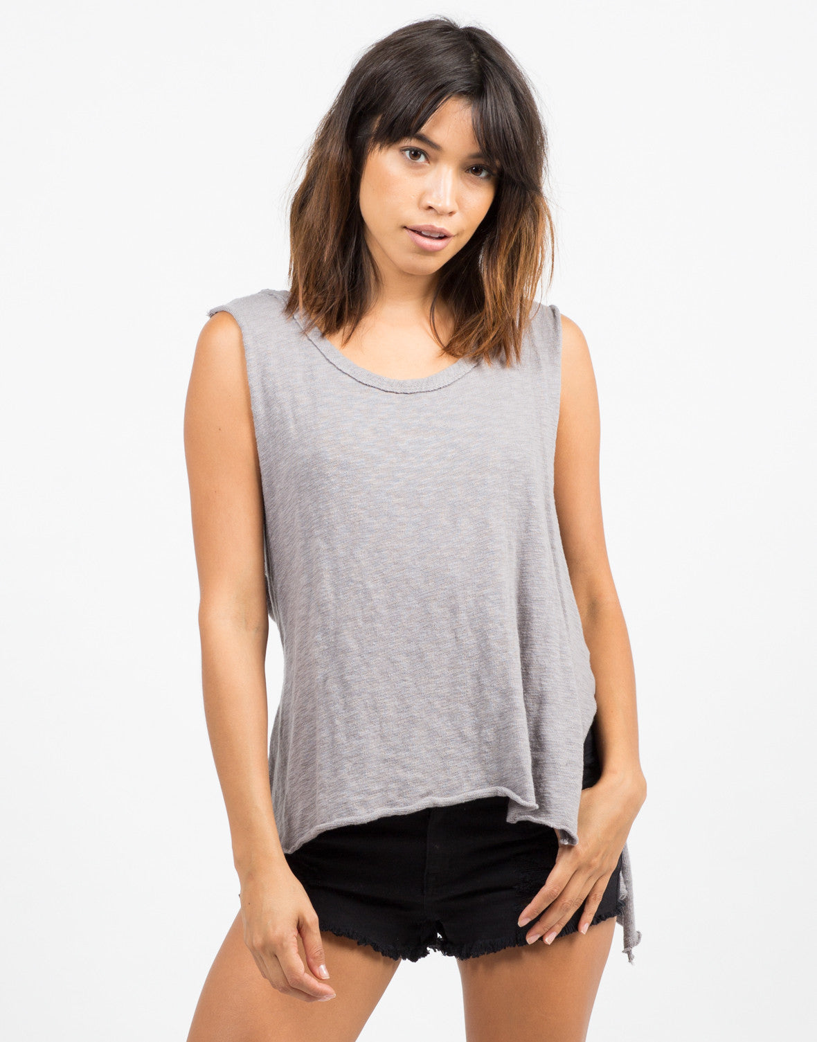 Hi-Low Hooded Tank - 2020AVE