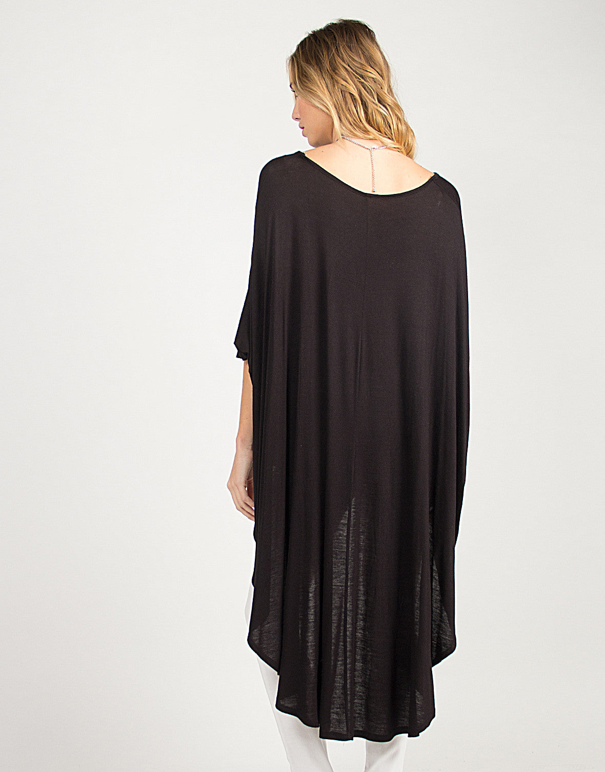 Hi-Low Oversized Batwing Top - 2020AVE