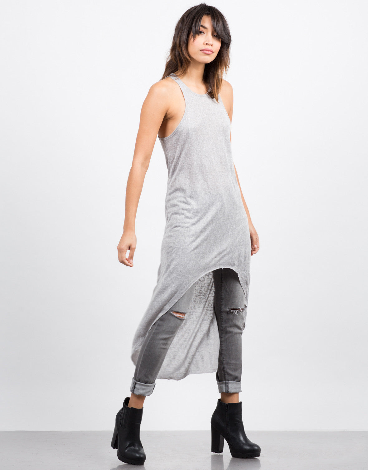 Hi-Low Racer Tank Top - 2020AVE
