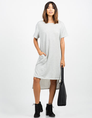 Hi-Low Sweater Dress - 2020AVE