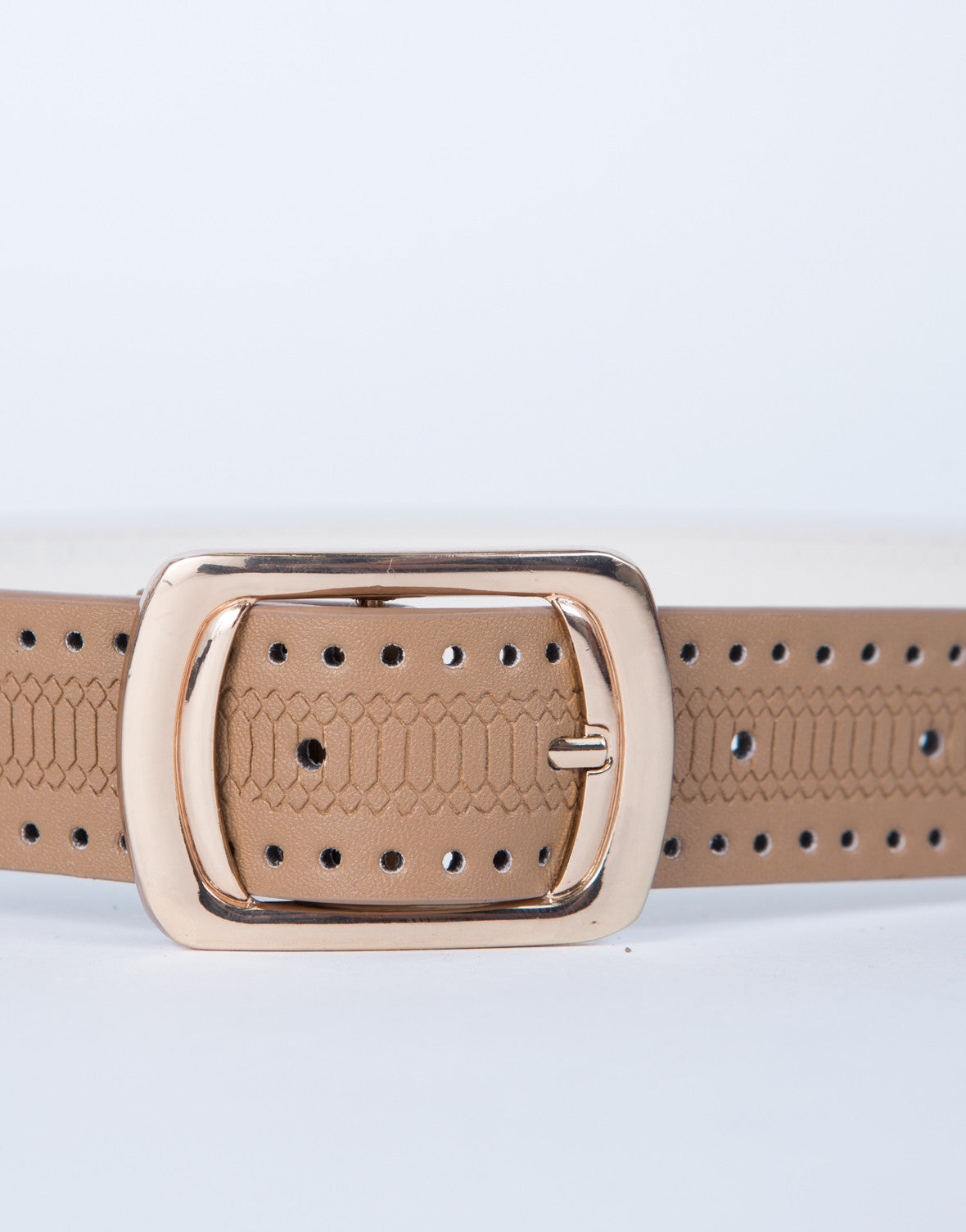 Holey Cut Out Belt