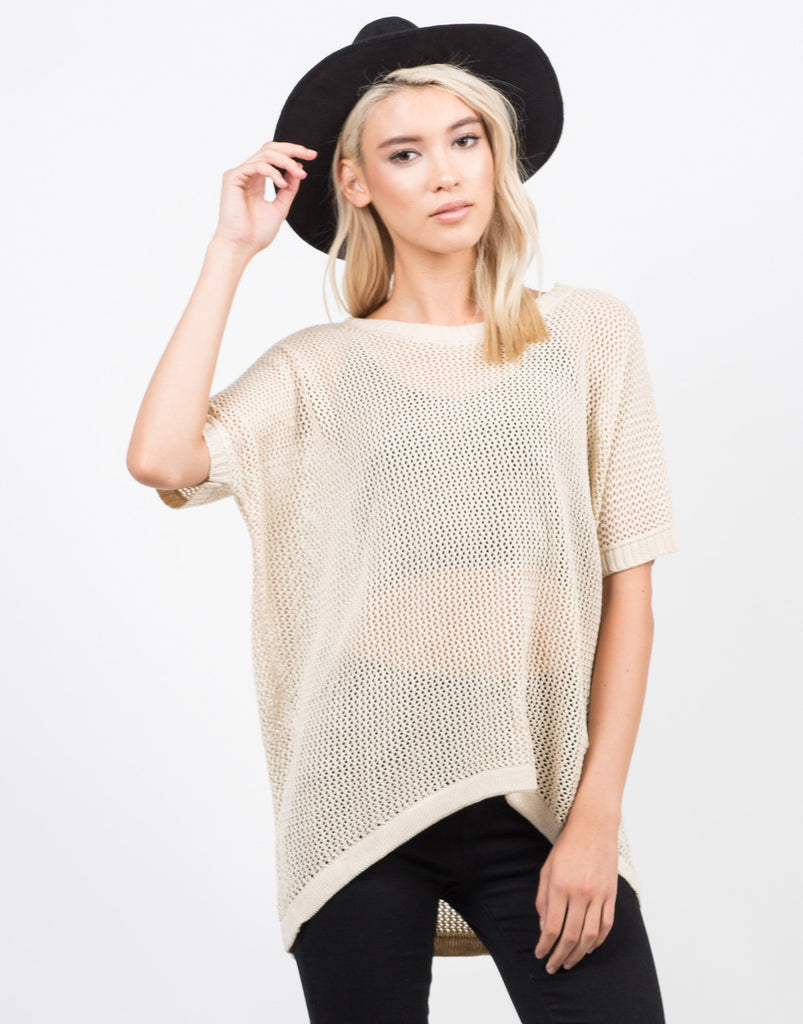 Honeycomb Knit Top - 2020AVE