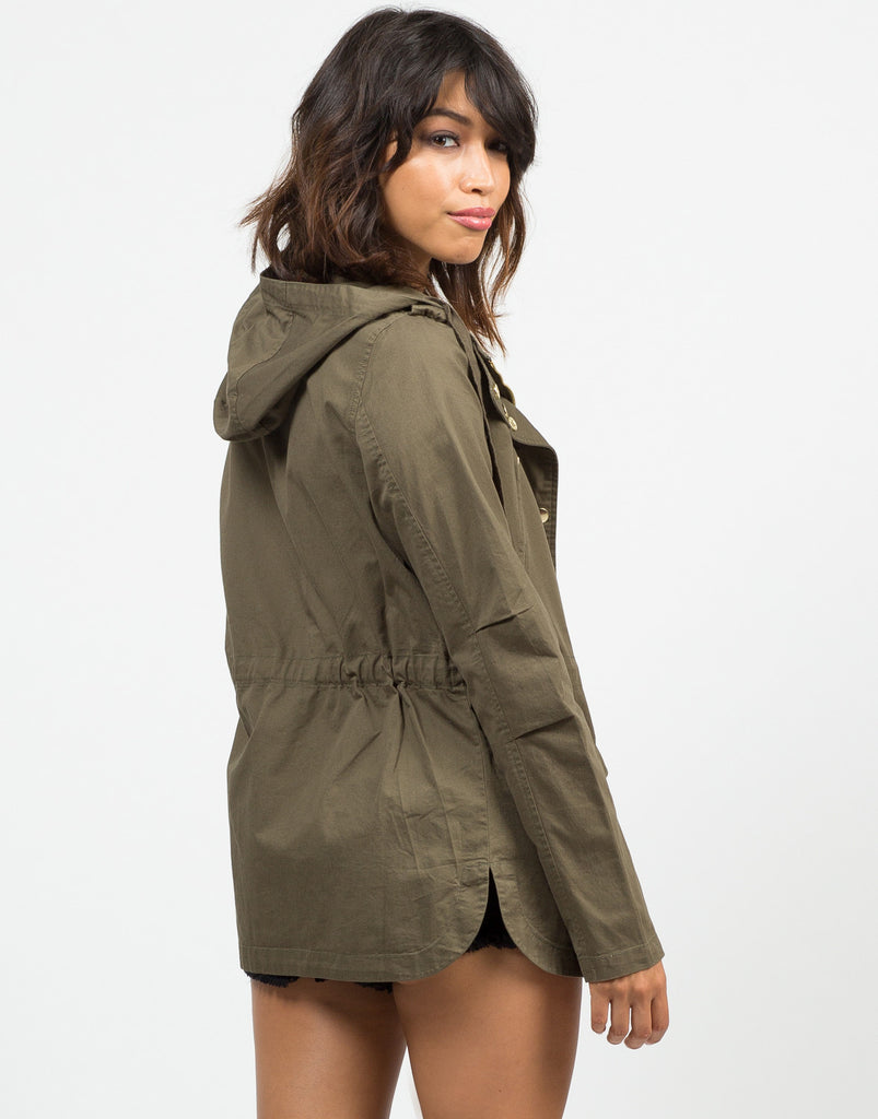 Hooded Cargo Jacket - 2020AVE